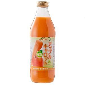 日本青森縣蘋果紅蘿蔔果汁(每瓶約1公升)