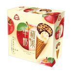 杜老爺蘋果牛奶甜筒, , large
