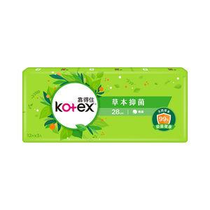 Kotex Herbal Pad 28cm