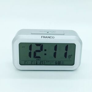 全自動光控LCD鬧鐘 TW-766
