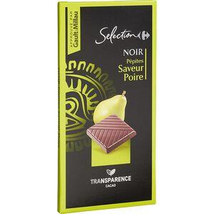 C-Select Pear Dark Chocolate 100G