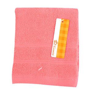 雙層緞檔方巾-粉