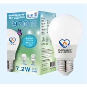 Everlight 7.2W ECO Plus LED Lamp