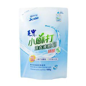 毛寶小蘇打液體皂補充包-抗菌