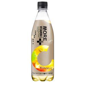 多喝水More+維他命100氣泡水-百香果風味560ml