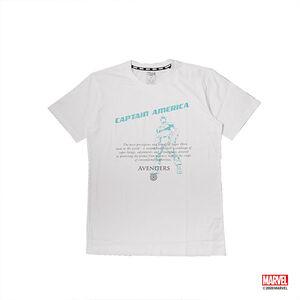 美國隊長文字款短袖T恤-白色