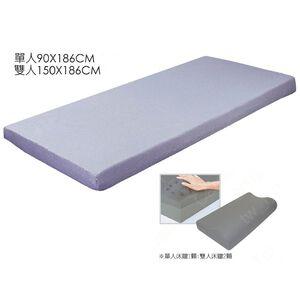 Microban抗菌記憶床墊平面10cm-雙人