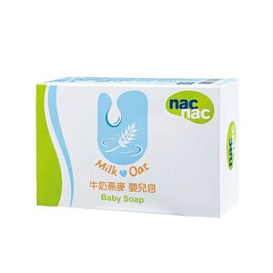Nac Nac牛奶燕麥嬰兒皂
