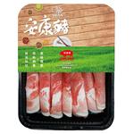 安康豬冷凍台灣梅花火鍋肉片250g, , large