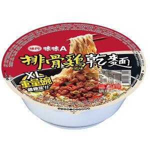 Pork ribs chicken flavored noodles (bowl