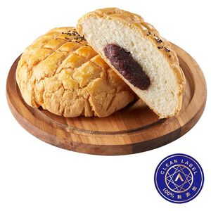 Red Bean Big Polo Bread