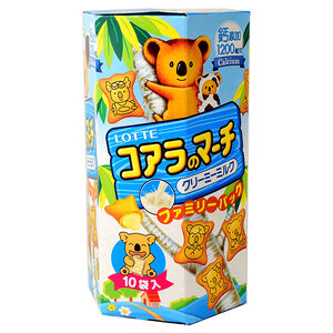 Lotte Koala no march creamy milk