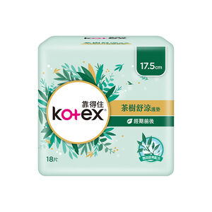 Kotex Tea tree liner 17.5cm