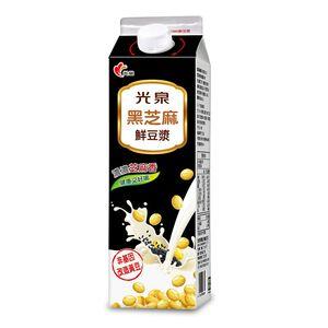 Black Sesame Soya milk