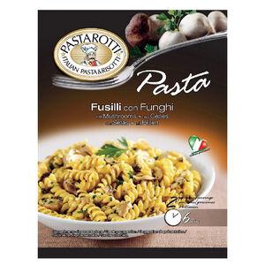 Pastarotti Fusilli pasta w/Porcini mush.