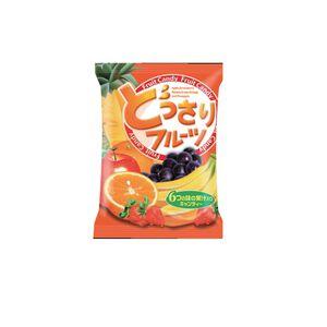 可康日式六色水果糖170g