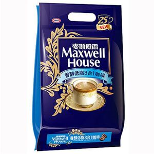 Maxwell Low Fat 3 In 1 Coffe
