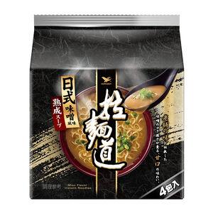 拉麵道-日式味噌(袋)101g