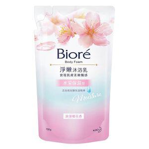 Biore 淨嫩沐浴乳浪漫保濕型-浪漫櫻花香700ml