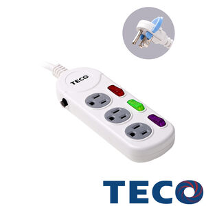 TECO Power extension cord