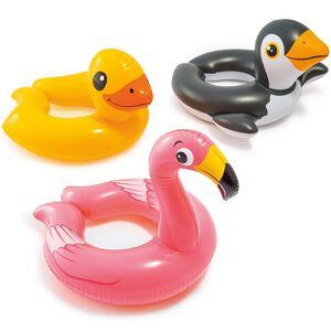 【泳具】動物裂尾泳圈-款式隨機出貨(適用年齡:3-6歲)