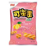 Pea Crackers Lemon Pink Salt, , large