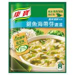 康寶濃湯-自然原味銀魚海帶芽37G, , large
