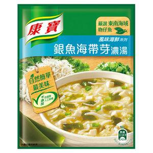 康寶濃湯-銀魚海帶芽-37g