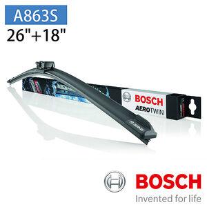 【汽車百貨】BOSCH A863S專用軟骨雨刷-雙支