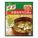 康寶濃湯味噌海帶芽豆腐湯34.7g, , large