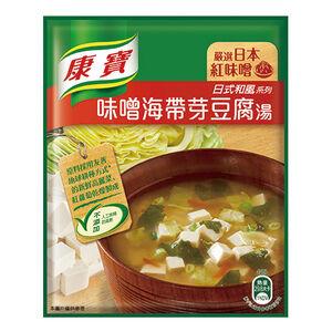 康寶濃湯-味噌海帶芽豆腐湯-34.7g