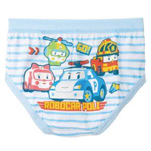 波力男童精梳純棉內褲2入110cm90cm