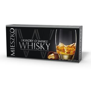 LIQUEUR CHOCOLATES WITH WHISKY FLAVOUR