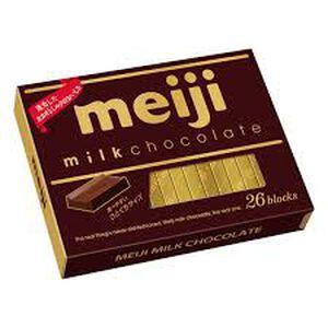 明治牛奶巧克力120g