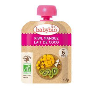 Babybio Organic Kiwi Mango Pouch