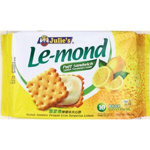 茱蒂絲雷蒙德夾心餅-檸檬味