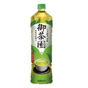 御茶園日式綠茶無糖Pet1250ml