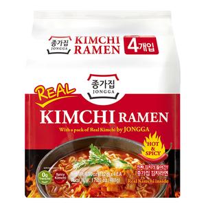 Instant Noodles Kimchi Ramen Hot Spicy
