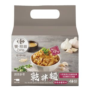 C-Dry Noodle garlicsesame sauce flavor