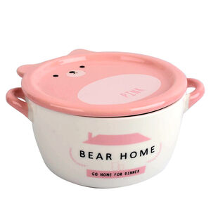 熊熊瓷蓋麵碗800ml