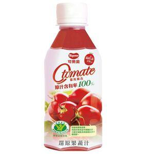 可果美100蕃茄檸檬汁280ml