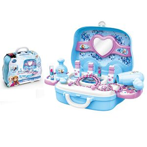 迪士尼系列-隨身盒- 冰雪化妝手提箱