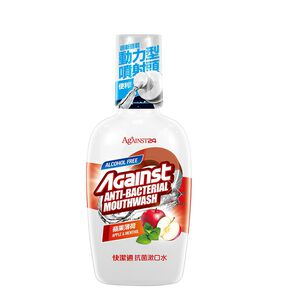 Against Mouth Wash-Apple