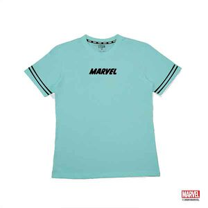 MARVEL COMIC LOGO短袖棉T-