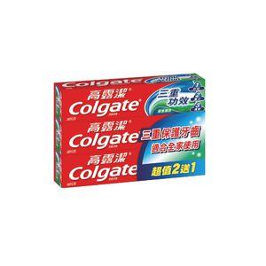 高露潔三重功效牙膏-160g