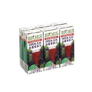 BIOES 100 Grape Juice 200ml
