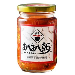 扒扒飯 雙椒醬260g-五辛素