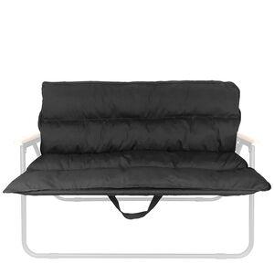 OWL CAMP素色雙人椅套-PTCI黑色(實際出貨不含展示用椅架)