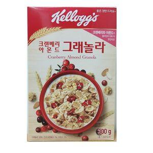 Kelloggs Cranberry and Almond Granola