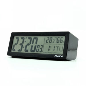 TW-8822 LCD多功能顯示鬧鐘(長型)